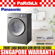 Panasonic NA-S106X1 Front Load Washer (10kg) cum Dryer (6kg) - 1 Year Warranty