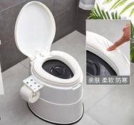可行動馬桶孕婦坐便器家用便攜式痰盂家用成人老人尿桶尿盆加高ATF