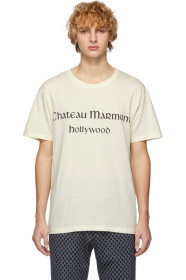 """GUCCI米白色""""Chateau Marmont"""" T 恤"""