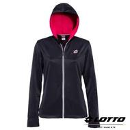 *義大利第一品牌-LOTTO樂得 女款抗UV防風運動針織外套 [63980] 深灰藍【巷子屋】