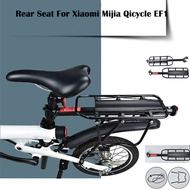 discount Bicycle Rear Seat Rack Rear Back Seat For Xiaomi Mijia Qicycle EF1 Smart Electric Scooter E