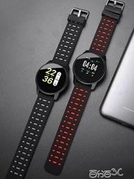智慧手錶 彩屏智慧手錶手環男多功能測運動手錶男學生小米蘋果通用 雙十一預購