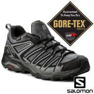 【SALOMON 法國】男 X ULTRA3 PRIME GTX低筒登山鞋『磁灰/黑/靜灰』402461