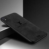 สำหรับ Redmi หมายเหตุ 7 Note7, ผ้ากวางผ้านุ่มเคสโทรศัพท์รูปแบบซิลิคอน TPU ผ้า Texture ฝาหลังสำหรับ Xiaomi Redmi Note 7 Pro Note7 คุณภาพดีที่สุดในสต็อก