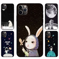 IPhone12 Pro Max 12mini  12 / 12 Pro Starry sky animal Casing Soft Case Cover
