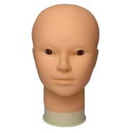 【快速出貨】人頭模具 假髮模特頭假人頭支架公仔頭模型具軟質口罩展示化妝頭模美容練習 元旦 創時代 元旦  交換禮物