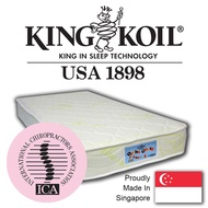 "King Koil OrthoGuard 2 Dual Foam 4"" Anti-Mosquito Mattress"