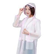 MNO.9 THINGS Raincoat EVA See through เสื้อกันฝน เสื้กคลุมกันฝน ชายหญิง แฟชั่นเกาหลี ผ้าEVA