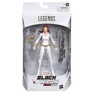 【孩之寶 Hasbro 】 Marvel 傳奇系列 6吋可動 收藏人物組-黑寡婦 北極白裝BLW LEGENDS WHITE DEATH