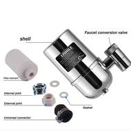 ก๊อกน้ำเครื่องกรองน้ำสำหรับอ่างล้างจานหรือห้องน้ำเมากรองแตะเครื่องกรองทำความสะอาดบ้านโครเมี่ยม