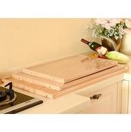 【擀面板-炭化板-60*40-標配】案板麵板 和麵板 揉麵板 切菜板實木(60*40cm)(標配是一塊板沒有贈品)-8001010
