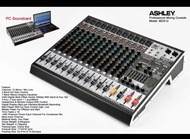 Mixer Audio Ashley MDX 12 12 Chanel Original