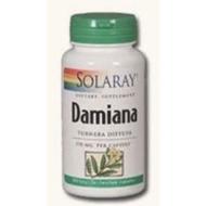 [現貨] Solaray,達米阿那葉,370mg,100粒素食膠囊(美國原廠正貨)Damiana,透納樹葉*百合麻雀*