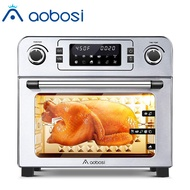 Aobosi 1700W Toaster Oven Electric Air Fryer Oven Toaster Air Fry Convection Oven Digital Countertop Rotisserie Oven Multi-Function