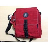 Kipling 經典側背小包-紅色