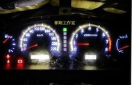 NISSAN SENTRA 180 M1 儀錶板/儀表板,指針與背光亮度維修,MOS IC燒毀,修理復原