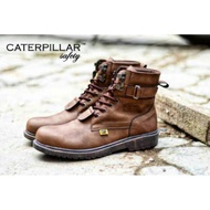 SAFETY BROWN CATERPILLAR SHOES
