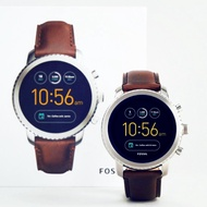 四折Fossil Gen 3 Smartwatch Q Explorist Brown Leather FTW4003