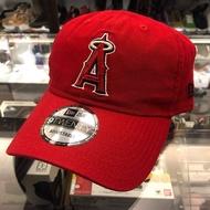 BEETLE NEW ERA 老帽 洛杉磯 天使 LOS ANGELES ANGELS DAD 文字 刺繡 紅色