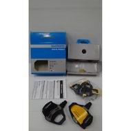 盒裝公司貨SHIMANO PD-R550公路車卡踏+6度鞋底板