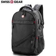 【SWISSGEAR】瑞士軍刀SG-28 後背包 USB雙肩 筆電 商務17吋大容量 多功能 旅行筆電背包