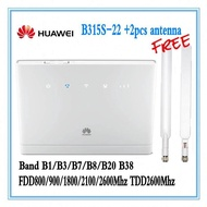 Unlocked Huawei B315 B315s-22 4G Portable Wireless WIFI Router Lte Wifi Router+2pcs antenna PK Huawei B593 B890 B2000 E5186 B310