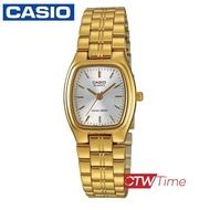 ส่งฟรี !! Casio Standard นาฬิกาข้อมือสุภาพสตรี สายสแตนเลส รุ่น LTP-1169N