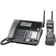 【通訊顧問】Panasonic KX-TG4000B國際牌2.4GHz,答錄無線電話, 8子機 4外線 總機系統, 9 成新