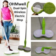Dual Spin Wireless Electric Mop