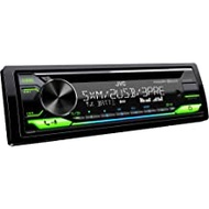 JVC KD- T915BTS Bluetooth Car Stereo Receiver with USB Port - 2-Line LCD Display AM/FM Radio – CD and MP3 Player Amazon Alexa Compatible – Single DIN - 13-Band EQ (Black)