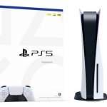 PS5 . 現貨 PlayStation®5 主機 (光碟版) 未取貨,可一同取