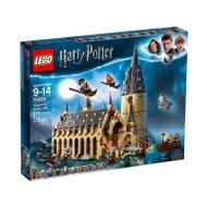 【LEGO 樂高積木】LT-75954 哈利波特Harry Potter系列-Hogwarts Great Hall(878pcs)(Harry Potter 75954)