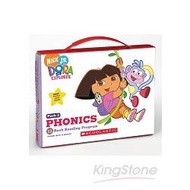 DORA THE EXPLORER PHONICS BOXSET #1 WITH CD認識自然發音套書-朵拉(系列1-附CD)