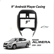 Nissan Almera 2016-2020 Android Player Casing 9  with Player Socket