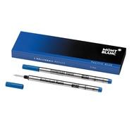 MONTBLANC 萬寶龍 鋼珠筆芯(單支) 藍 黑兩色/F M兩種規格可選擇
