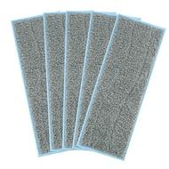 5包可清洗的濕拖布,適用於IRobot Braava M6(6110)兼容的Braava Jet M系列可重複使用的濕布