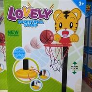 兒童玩具 巧虎籃球框 籃球組