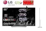 LG 55 นิ้ว รุ่น 55C7T OLED 4K SMART TV WEBOS (ตำหนิ Burn in 50%) มีคลิปวีดีโอ