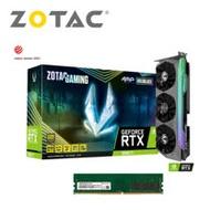 【ZOTAC組合包】ZOTAC RTX3080TI AMP Holo 12G*1+創見 16G D4-2666 JetRam*2