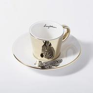 Luycho 韓國 鏡面倒影杯 咖啡杯 (濃縮款、小款) _ 斑馬