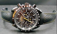 OMEGA 歐米茄 登月錶 超霸系列.太陽神阿波羅8號月之暗面.44.25毫米大師天文台計時腕錶 Zro2陶瓷錶殼.專賣店限量錶款.全新珍藏未使用過 二維碼膠膜都在.盒單齊全