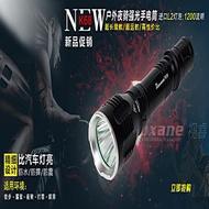 視睿Roxane美國Cree XML-T6強光手電筒K68(IPx-6防水手電筒)