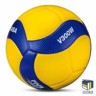 附發票xCUBESTORE|MIKASA V300W #5 超纖皮排球 皮球 5號球 比賽級排球