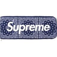 《綠茶哥》14FW Supreme The North Face 變形蟲 保暖 羽絨 睡袋 棉被 藍色