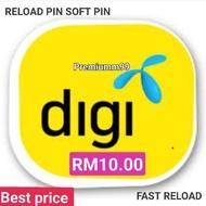 ⊙DIGI RELOAD PIN NUMBER/SOFT (RM10.00)