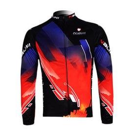 特價包郵 意大利NALINI環法山地自行車衣服 透氣排汗騎行服長上衣