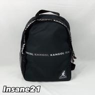 【特價商品】KANGOL 英國品牌 袋鼠 後背包 串標滿版 LOGO 小後背【Insane-21】