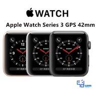 購物節【豐溢3C】保固 Apple Watch Series 3 GPS 42mm 太空灰色鋁 美版福利品 99新拆封