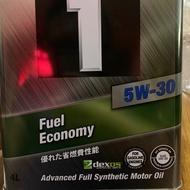 日本美孚機油 5W30 4L鐵罐