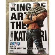KING OF ARTIST THE CHARLOTTE KATAKURI 海賊王卡塔庫栗公仔金證
